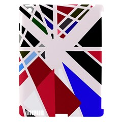 Decorative flag design Apple iPad 3/4 Hardshell Case (Compatible with Smart Cover)