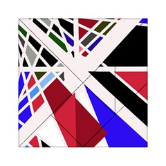 Decorative flag design Acrylic Tangram Puzzle (6  x 6 )