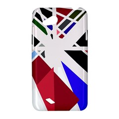 Decorative flag design HTC Desire VC (T328D) Hardshell Case