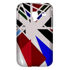 Decorative flag design Samsung Galaxy Ace Plus S7500 Hardshell Case