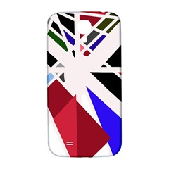 Decorative flag design Samsung Galaxy S4 I9500/I9505  Hardshell Back Case
