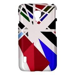 Decorative flag design LG Optimus L7 II