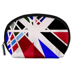 Decorative flag design Accessory Pouches (Large)