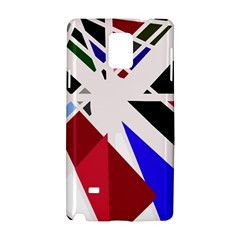 Decorative flag design Samsung Galaxy Note 4 Hardshell Case