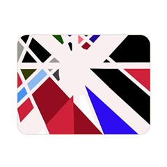Decorative flag design Double Sided Flano Blanket (Mini)
