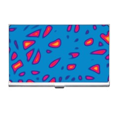 Blue and red neon Business Card Holders