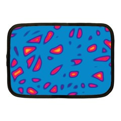 Blue and red neon Netbook Case (Medium)