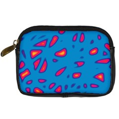Blue and red neon Digital Camera Cases