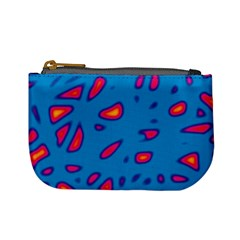 Blue and red neon Mini Coin Purses