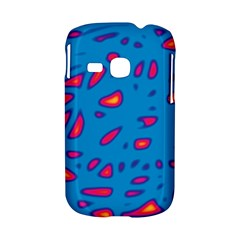 Blue and red neon Samsung Galaxy S6310 Hardshell Case