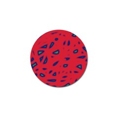Red neon Golf Ball Marker