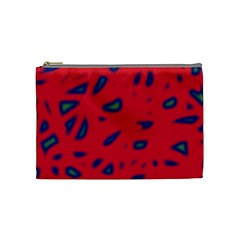 Red neon Cosmetic Bag (Medium)