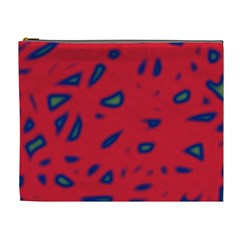 Red neon Cosmetic Bag (XL)