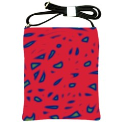 Red neon Shoulder Sling Bags