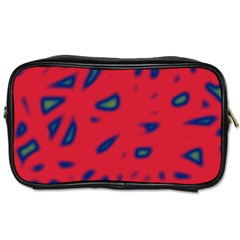 Red neon Toiletries Bags 2-Side