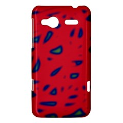 Red neon HTC Radar Hardshell Case