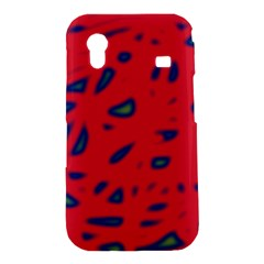 Red neon Samsung Galaxy Ace S5830 Hardshell Case