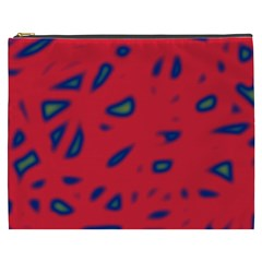 Red neon Cosmetic Bag (XXXL)