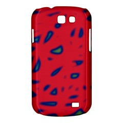 Red neon Samsung Galaxy Express I8730 Hardshell Case