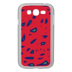 Red neon Samsung Galaxy Grand DUOS I9082 Case (White)
