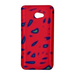 Red neon HTC Butterfly S/HTC 9060 Hardshell Case