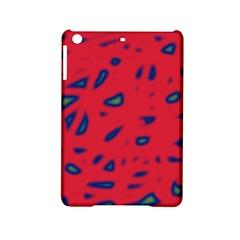 Red neon iPad Mini 2 Hardshell Cases