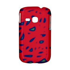 Red neon Samsung Galaxy S6310 Hardshell Case