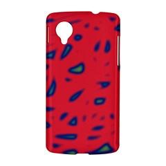 Red neon LG Nexus 5
