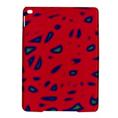 Red neon iPad Air 2 Hardshell Cases