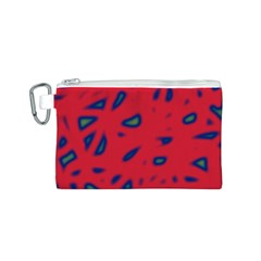 Red neon Canvas Cosmetic Bag (S)