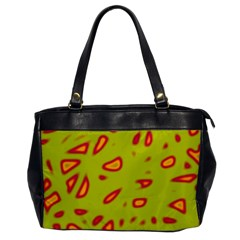 Yellow neon design Office Handbags