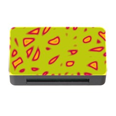 Yellow neon design Memory Card Reader with CF