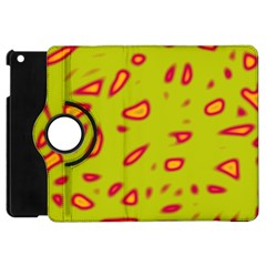 Yellow neon design Apple iPad Mini Flip 360 Case