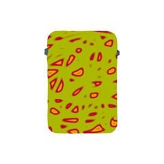 Yellow neon design Apple iPad Mini Protective Soft Cases