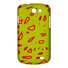 Yellow neon design Samsung Galaxy Express I8730 Hardshell Case