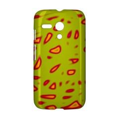 Yellow neon design Motorola Moto G