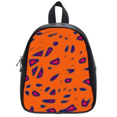 Orange neon School Bags (Small)