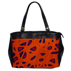 Orange neon Office Handbags
