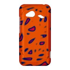 Orange neon HTC Droid Incredible 4G LTE Hardshell Case