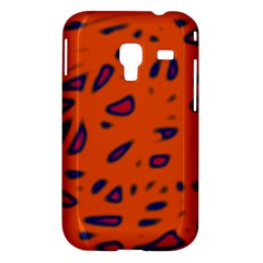 Orange neon Samsung Galaxy Ace Plus S7500 Hardshell Case