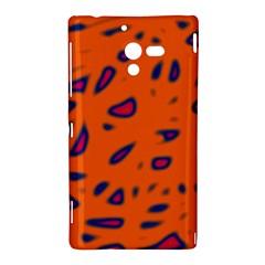 Orange neon Sony Xperia ZL (L35H)