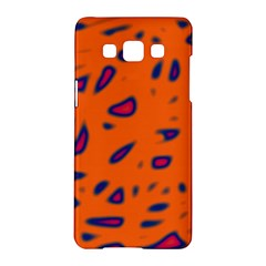 Orange neon Samsung Galaxy A5 Hardshell Case