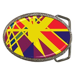 Hot abstraction Belt Buckles