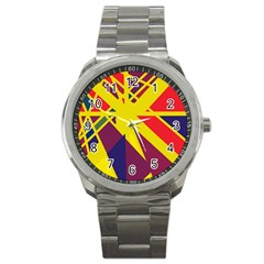 Hot abstraction Sport Metal Watch