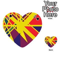 Hot abstraction Playing Cards 54 (Heart)