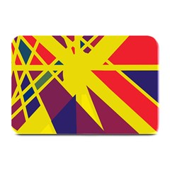 Hot abstraction Plate Mats
