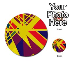 Hot abstraction Multi-purpose Cards (Round)