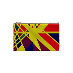 Hot abstraction Cosmetic Bag (Small)