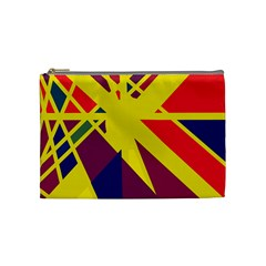 Hot abstraction Cosmetic Bag (Medium)