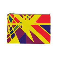 Hot abstraction Cosmetic Bag (Large)